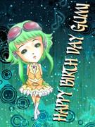 Happy birth day GUMI