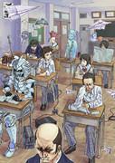 日本の学生