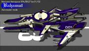 XFA/ER-27bx-01/02 バハムート・エアロマスター(トゥーン・レンダリング)