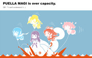 PUELLA MAGI is over capacity