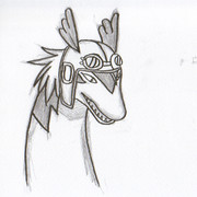 なんとなく、シロンを描いてみたかっただけ