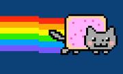 Nyan Cat  真似しながら描いてみた