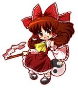博麗神社の巫女さん