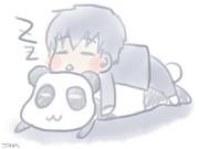 パンダと土方