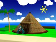 竪穴式住居onどんぶり島