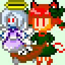 【東方】ゾンビフェアリー 32×32【ドット絵】
