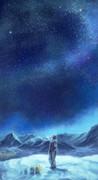 シロガネ山の夜