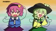 【第3回東方ニコ童祭ED絵企画】少女歌唱中・・・
