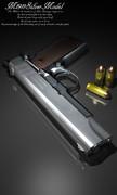 M1911SilverModel