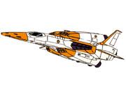 FF-S3 セイバーフィッシュ(連邦軍標準カラー)