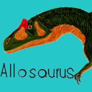 お絵カキコ・アロサウルス