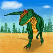 お絵カキコ・アロサウルス2