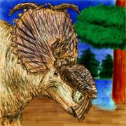 お絵カキコ・パキリノサウルス