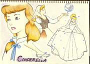 「シンデレラ」を描いてみました by ichigochan1205