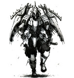 斑鳩擬人化(というか鎧武者化?)