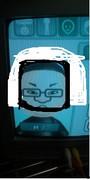 wiiの似顔絵で石川典行を作ってみた