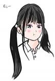 黒髪の女の子