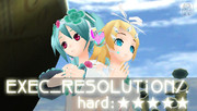 【project DIVA 2nd】EXEC_RESOLUTION/.【エディット画像】