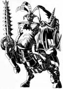 巨大密林機械仮面虫戦士オゴーグモルド