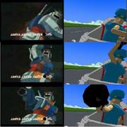 好きなアニメのモーションを使ってみた。