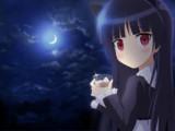 【イラスト依頼33】夜の黒猫!【俺の妹がこんなに可愛いわけがない】(修正版)to 利香さん