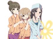 花咲く三人組