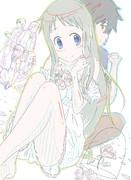 【あの花】ラフ3(ニコニコ静画用)