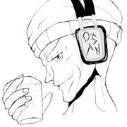 ニコ生「さんをつけろよデコ助野郎」の企画で描いたおっさん