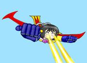 空飛ぶマジンガーNANO「光子力ビーム」