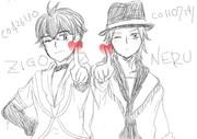 うたプリ風 ジゴ&ネル