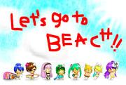 Let's Go To BEACH !!