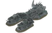 HEAVY FOLK ヘビィ・フォーク級陸上戦艦