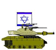 メルカバ戦車描いてみた