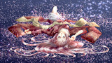真夜中の桜
