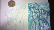 【消しゴムはんこ】 桐乃ver2 彫ってみた