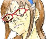 真希波・マリ・イラストリアスのメガネ?