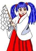 【金澤佳雅】 巫女雅子