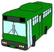 学園都市のバスかいてみた