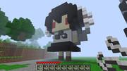 【minecraft】しゃめいまる作ってみた【3Dドット絵】