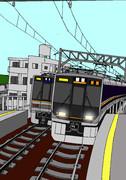 関西の普通列車 321系電車