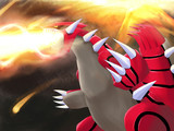 グラードン の 熱線攻撃! 【差分】