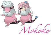 【第二回ぎゅうにく企画】モココを擬人化して描いてみたかった