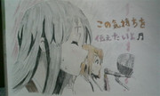 けいおん!!20話の澪描いてみた。