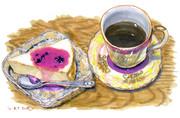 レアチーズケーキ&タンポポコーヒー