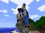 【Minecraft】フリーダムガンダム【未完成】