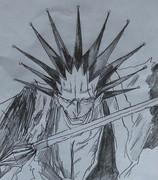 更木剣八(落書き)