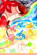 虹色まんべ
