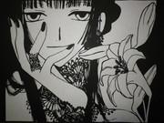 【切り絵】⑥侑子さん【xxxHOLIC】