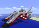 【Minecraft】強襲機動特装艦AA級壱番艦アークエンジェル【SEED】