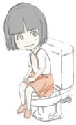 トイレの花子さん(ラフ)